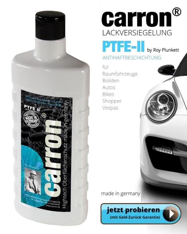 carron® PTFE-II Highend Versiegelung für Autolack und Autoglas