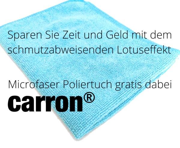 carron® Mikrofasertuch gratis Aktion jetzt nutzen