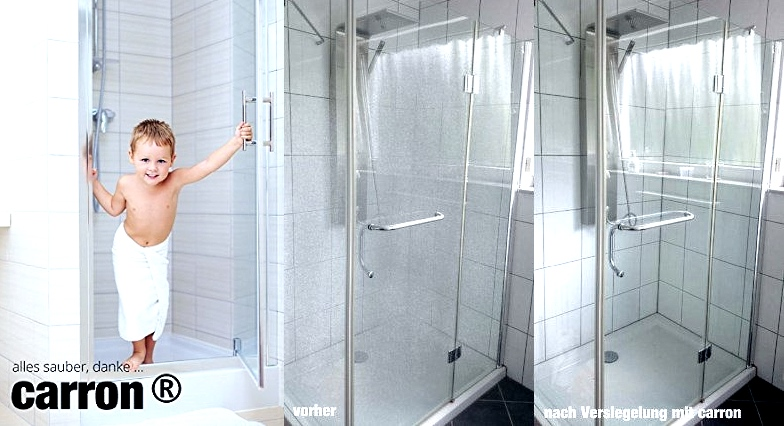 carron versiegelung gegen kalk schmutz lotuseffekt f r auto dusche. Black Bedroom Furniture Sets. Home Design Ideas
