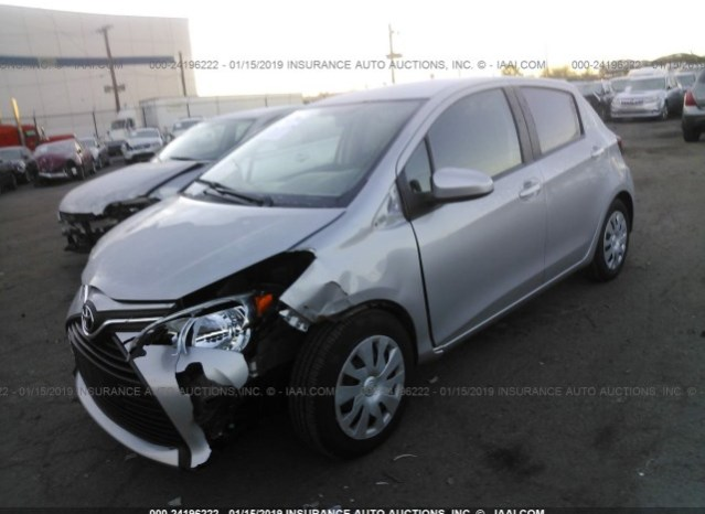 Toyota Yaris 2015 full