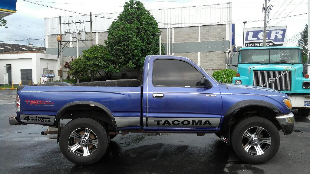 toyota tacoma a o 95 est ndar 4x4 4cilin carros en venta san salvador el salvador. Black Bedroom Furniture Sets. Home Design Ideas