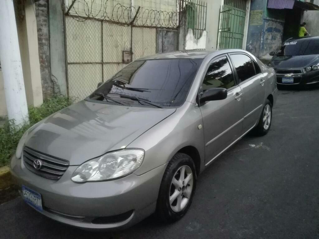 Carros Usados Toyota >> Ganga Toyota Corolla 2004 De Agencia Carros En Venta San Salvador
