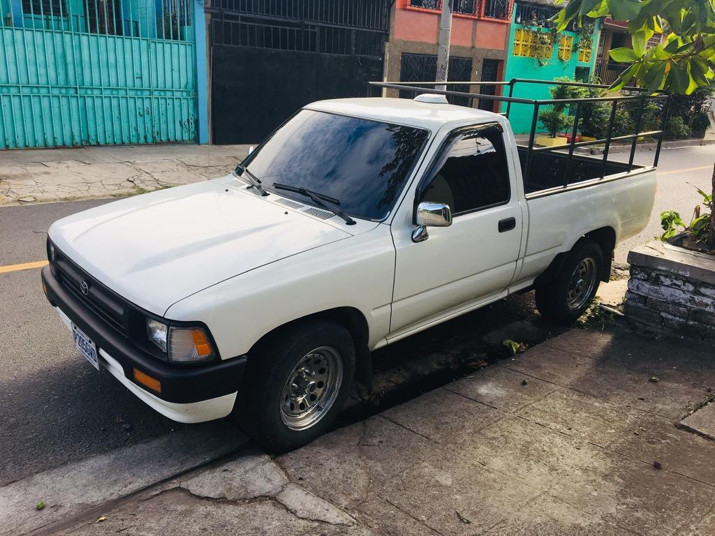 Toyota 22r 94 Placas De Guatemala Carros En Venta San Salvador El