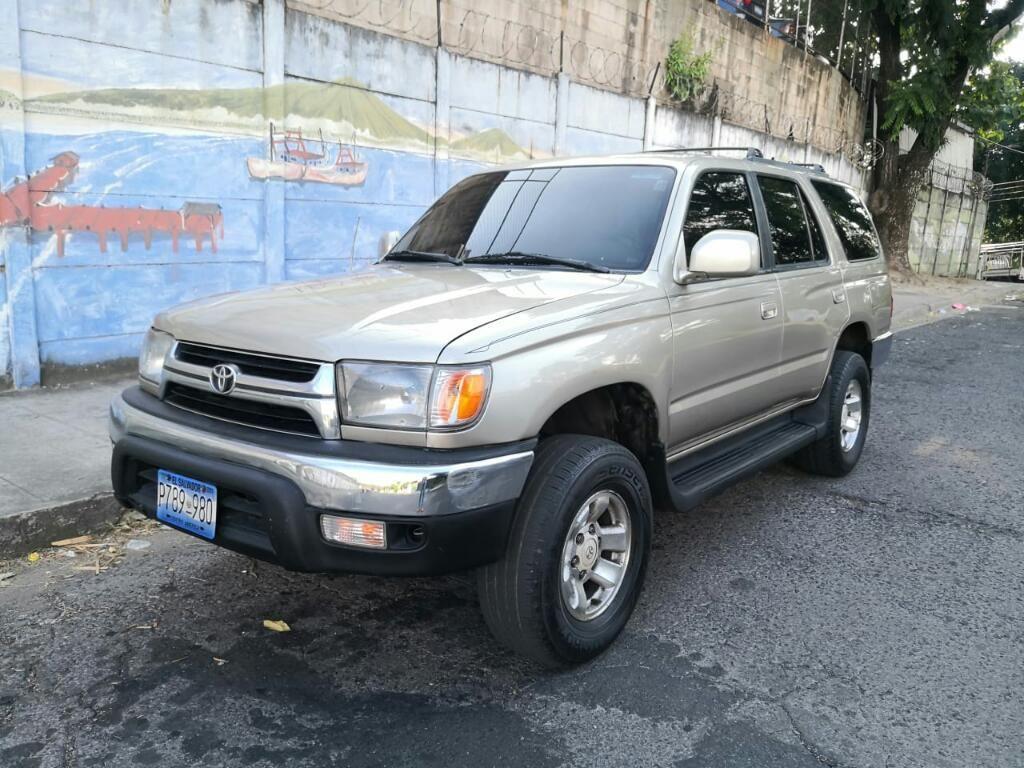 Toyota 4runner 4x4 A U00f1o 2002 No Chocada 3 Filas De Asiento