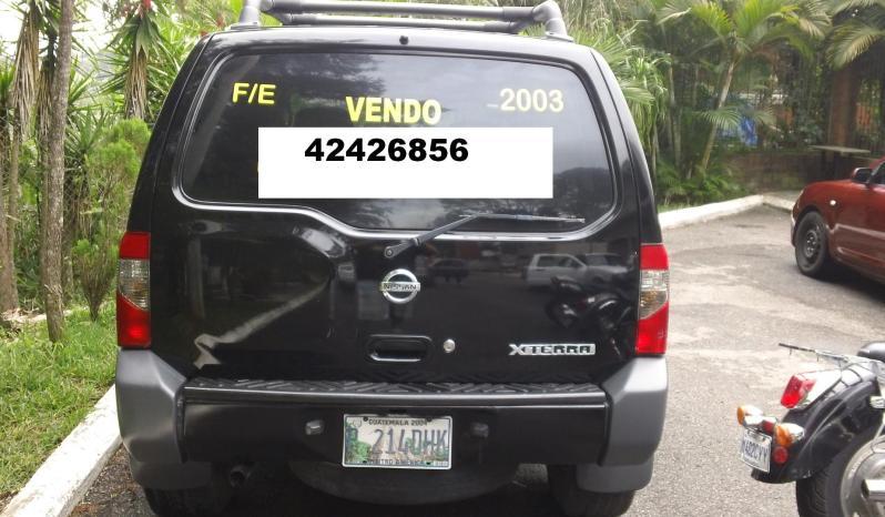 Usados: Nissan Xterra 2003 automática en Zona 17