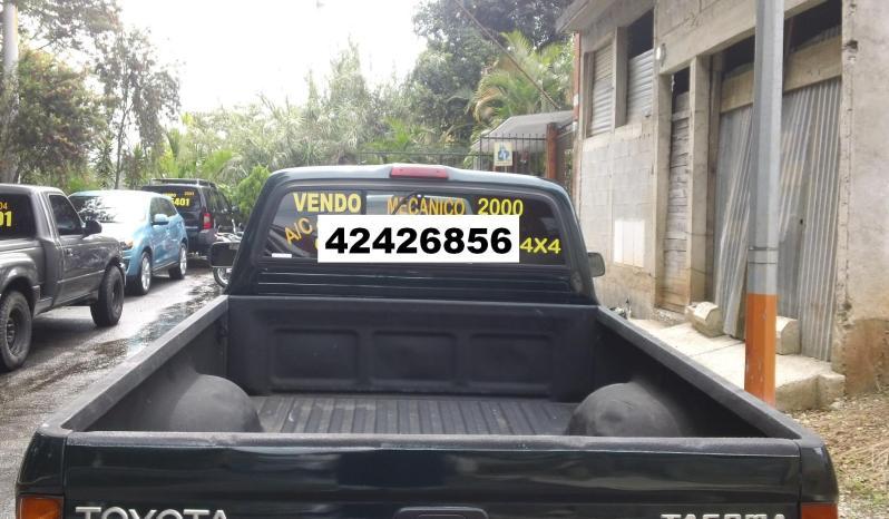 Usados: Toyota Tacoma 2000 4×4 mecánica en Zona 17 full