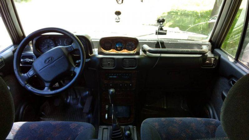 Usados: Hyundai Montero 2000 en El Estor, Izabal lleno