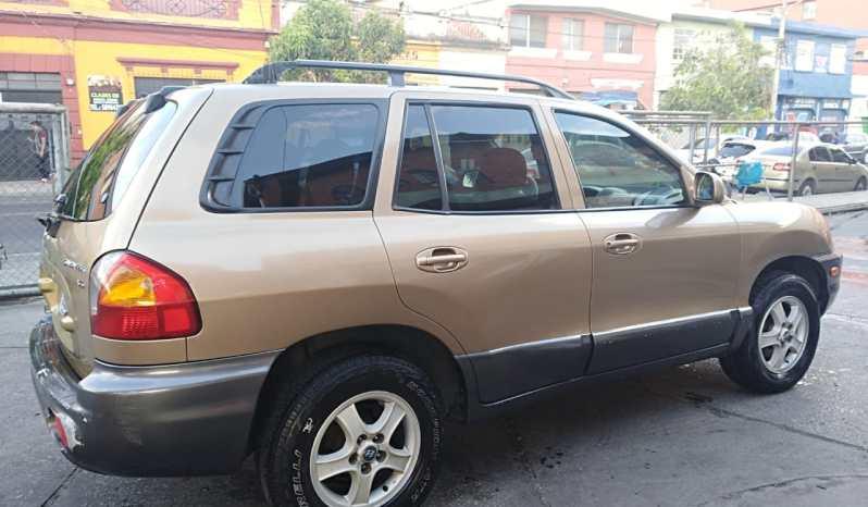 Hyundai Santa Fe 2004 full