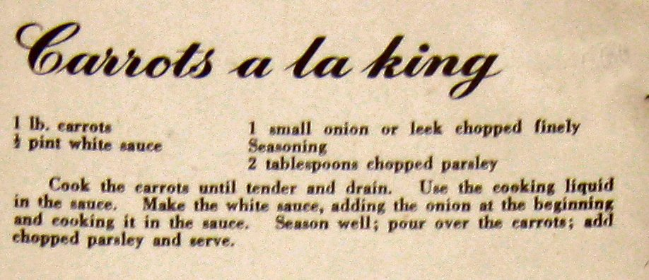 WW2 Ministry Of Food Leaflet