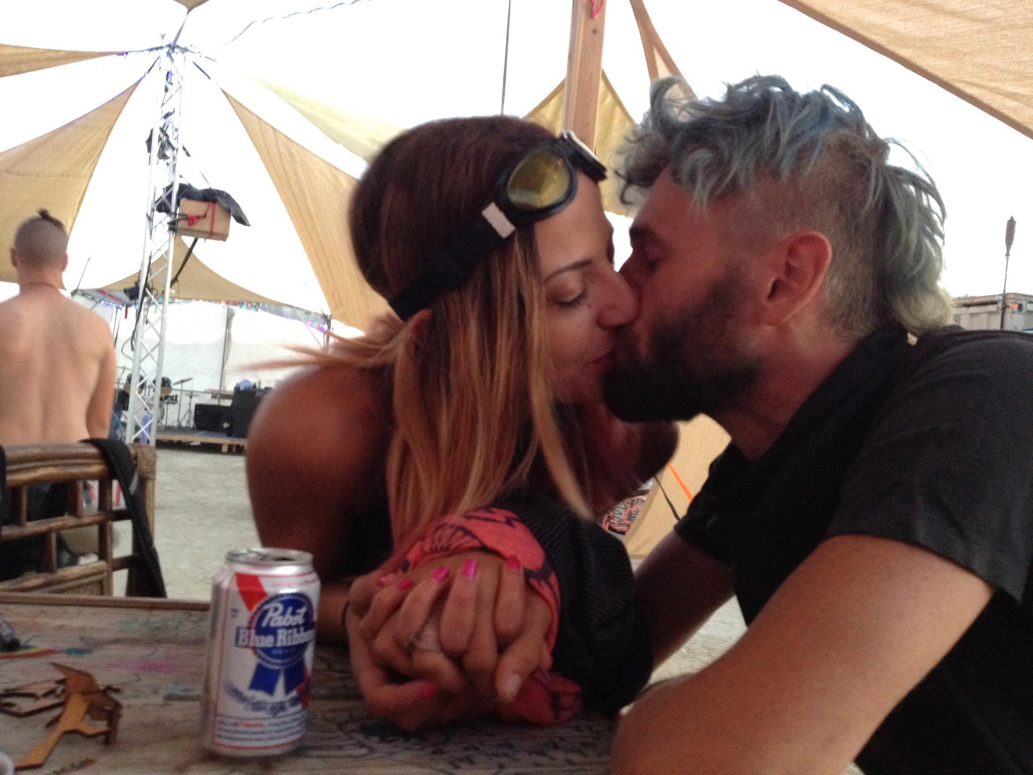 In love at Burning Man