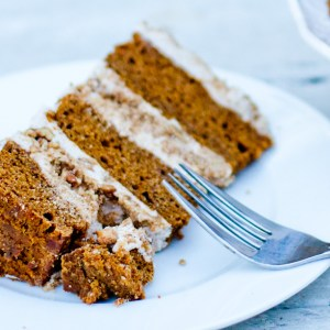 Vegan Pumpkin Spice Layer Cake