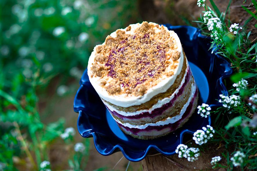 Vegan Raspberry Lemon Cake