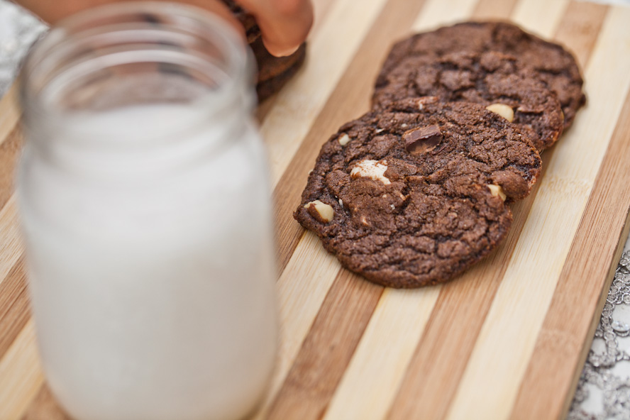 Vegan Rocky Road Cookies