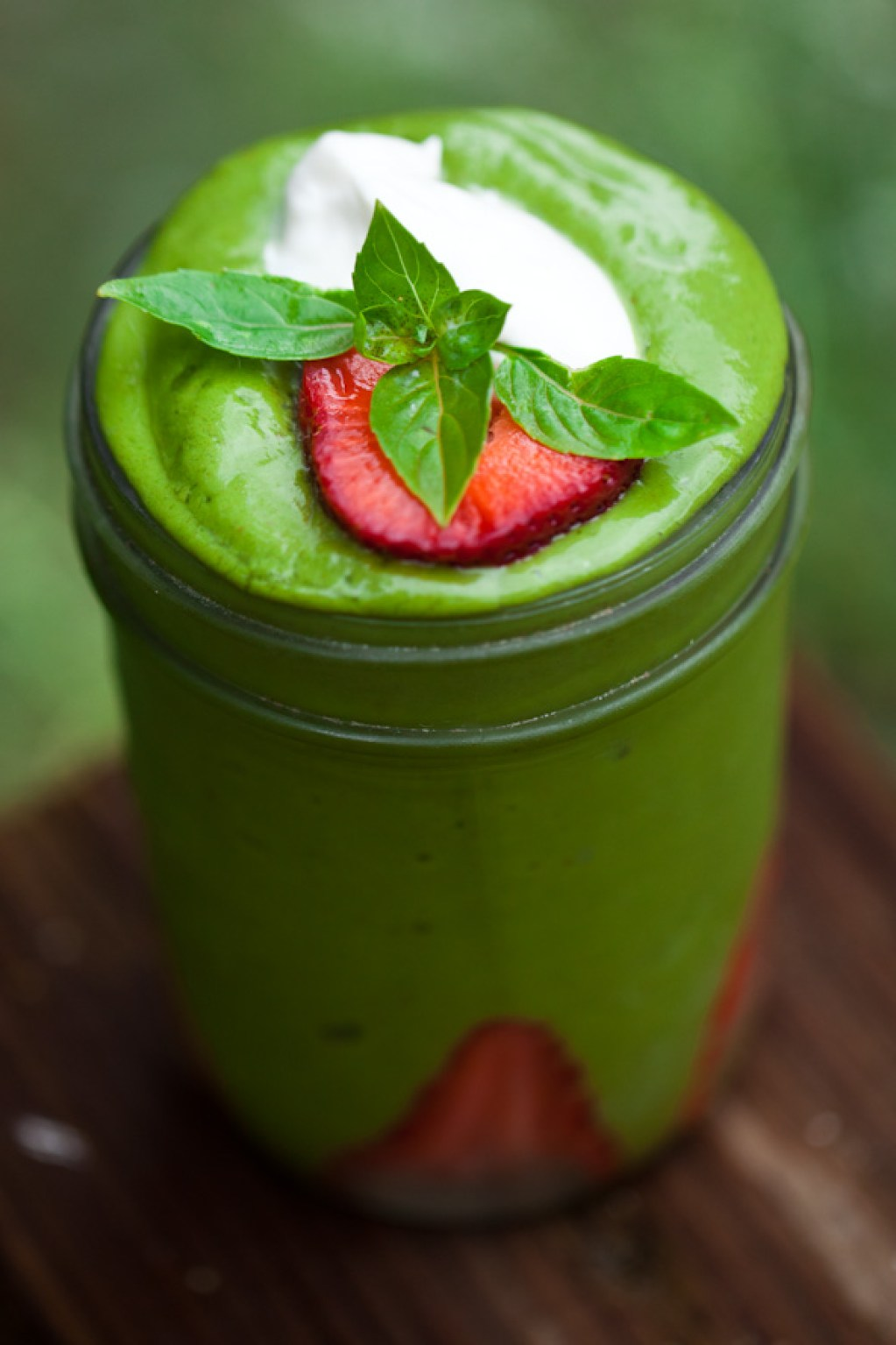 matcha avocado smoothie