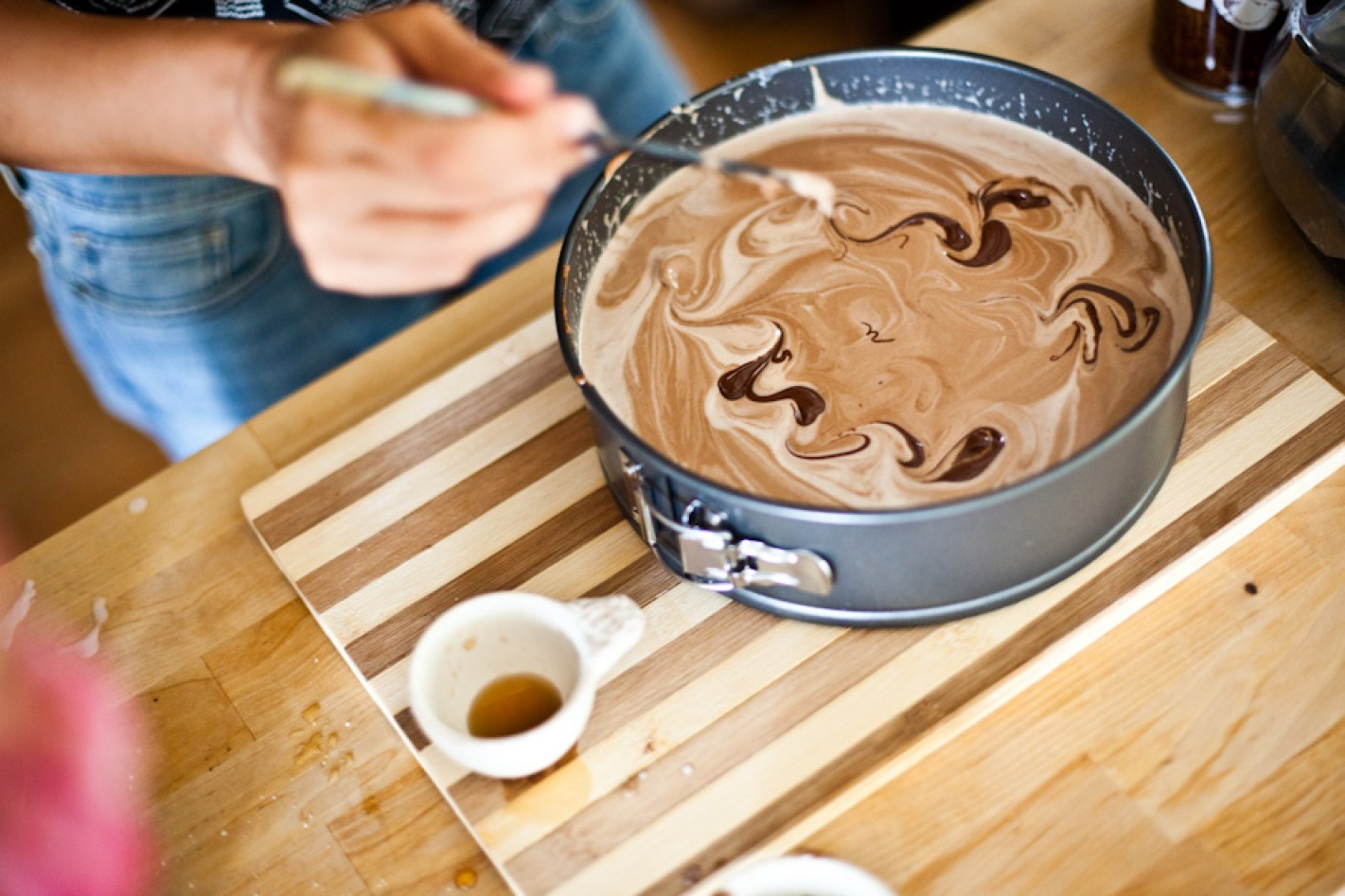 No Bake Vegan Chocolate Peanut Butter Pie
