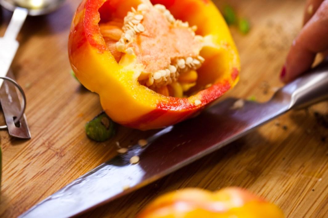 10 minute raw gazpacho