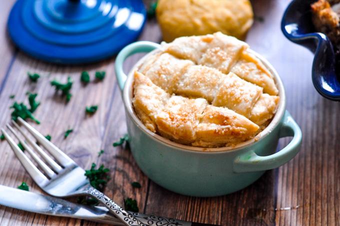 Vegan Chai Spiced Apple Pie