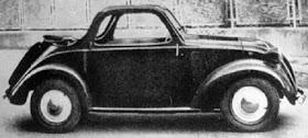Fiat – 500 B Cabriolet Accossato