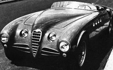 The Alfa Romeo 412 Spider Vignale