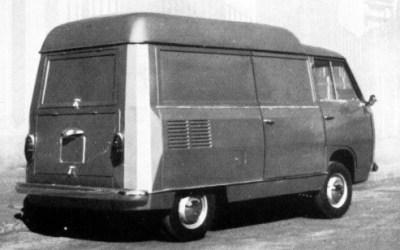 Fiat – 600 T Tetto Rialzato