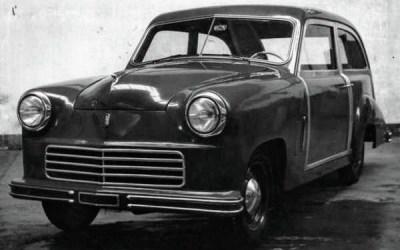 Fiat – 1100 C Saloncino