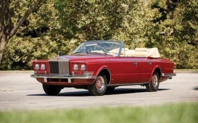 Rolls Royce – Phantom VI All Weather Cabriolet