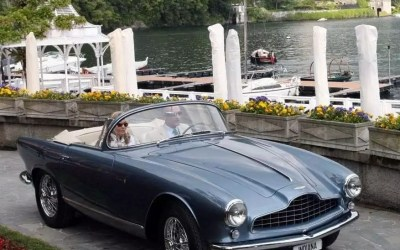 Aston Martin – DB2/4 Spyder Bertone