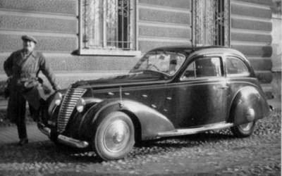 Lancia – Augusta 2+2 Berlina Aerodinamica