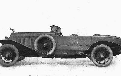 Isotta Fraschini – Tipo 8A Torpedo Granturismo