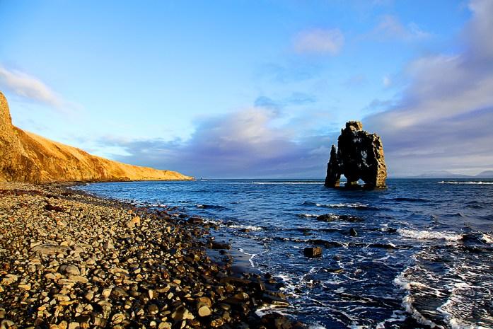 Hvítserkur in Iceland - Photo by Carry-On Traveler
