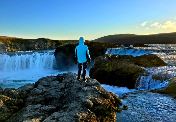 Goðafoss Waterfall in Iceland - Photo by Carry-On Traveler