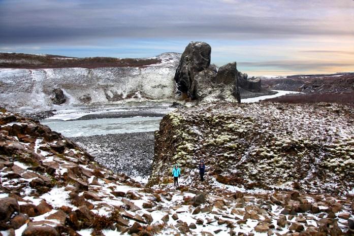 Hljóðaklettar in Iceland - Photo by Carry-On Traveler