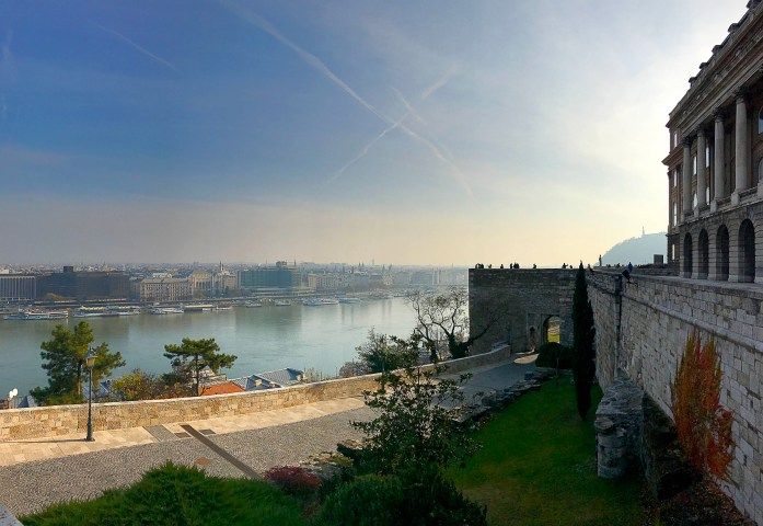 View of Budapest from Buda Castle
