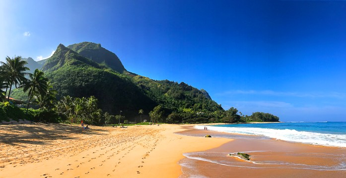 Lumahai Beach on North Shore of Kauai