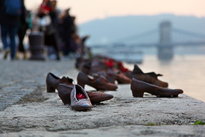 The Shoes on the Danube - memorial in Budapest