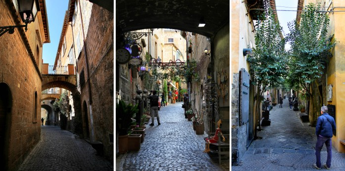 Charming alleys in Orvieto, Italy