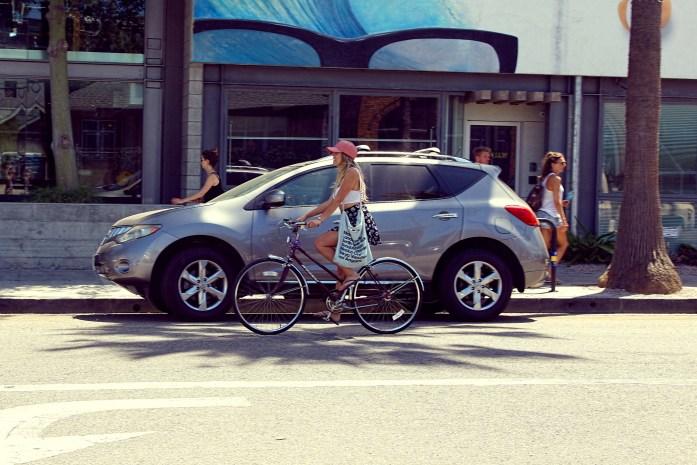 Venice Beach Abbot Kinney Bike Ride