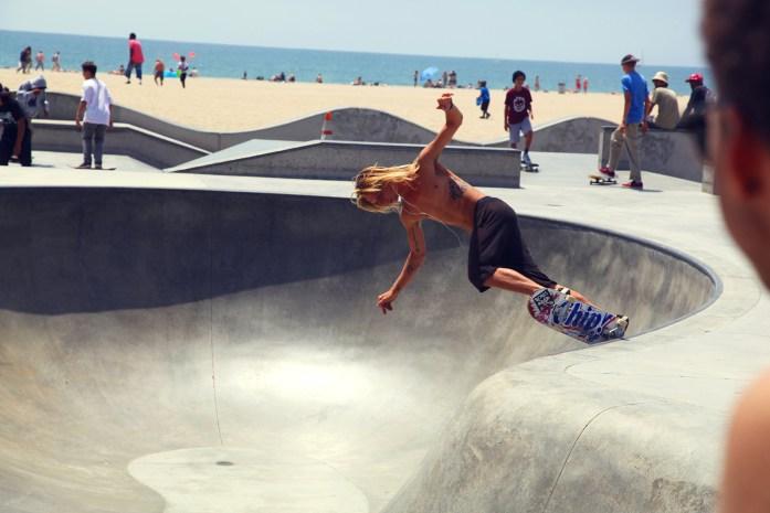 Venice Beach Skate Park Skater