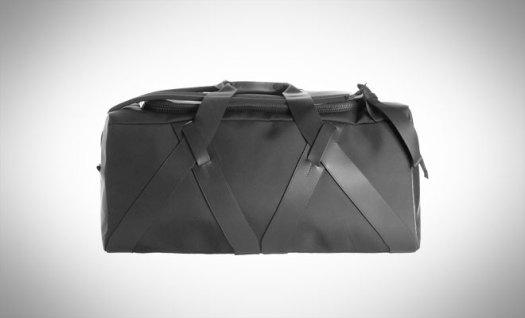 TroubadourFabric + Leather Duffel