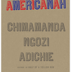 book cover of americanah