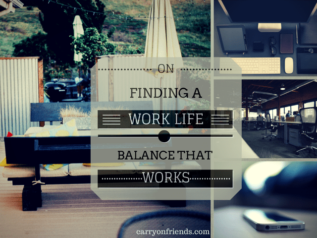 office home work life balance