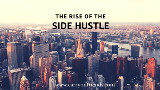 nyc skyline the rise of the side hustle