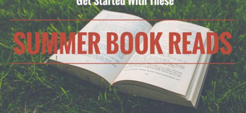 open book on grass Carry on Friends Summer books reads
