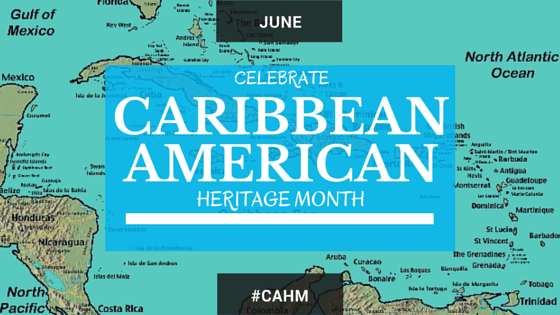 Map of the Caribbean Islands Caribbean American Heritage