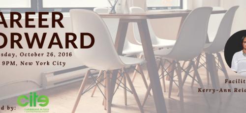 Career Forward Workshop with Kerry-Ann Reid-Brown