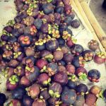 Mangosteen at Flower Market