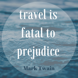 Travel intuition instincts prejudice