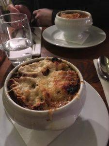 Best Onion Soup in Montmartre - La Piazza?
