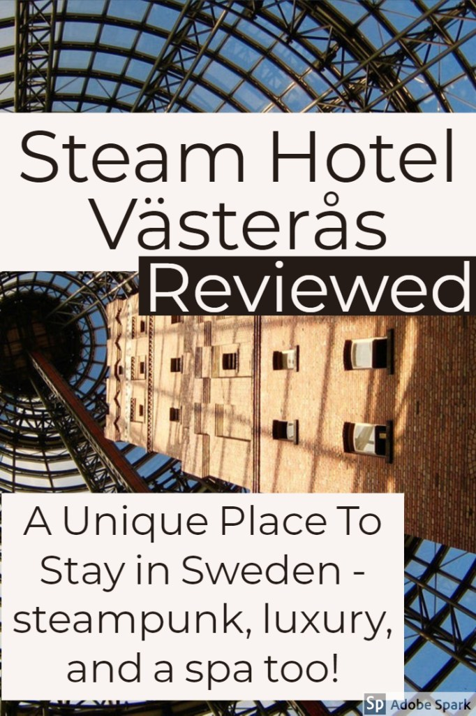 the steam hotel Västerås Reviewed unique factory hotel