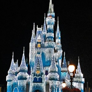 Spend christmas at disney world florida